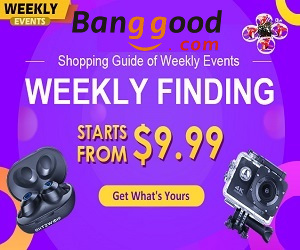 Snap the Best Deals and offers at Banggood