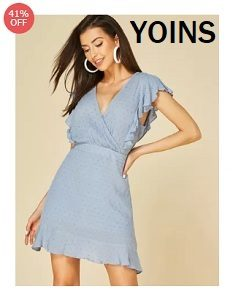Shop your next nice looking dresses only at Yoins.com