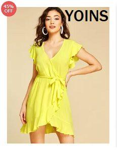 Shop high quality fashion dresses at Yoins.com