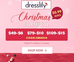 Get your discounts and buy your dresses at Dresslily.com