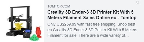 Creality 3D Ender-3 3D Printer Kit With 5 Meters Filament Price: $154.99 Delivered from EU Warehouse, Free Shipping