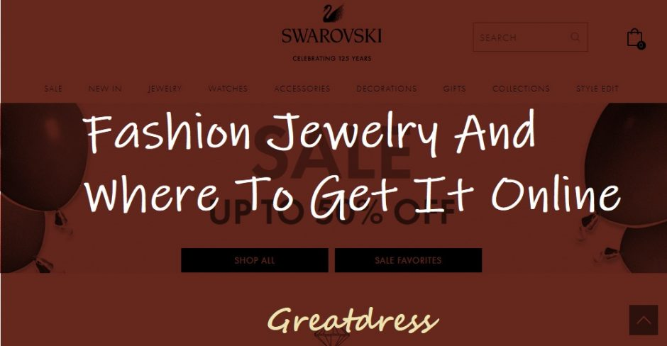 Fashion Jewelry And Where To Get It Online