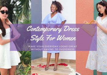 Contemporary Dress Style For Women
