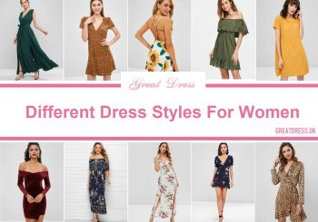 Different Dress Styles For Women